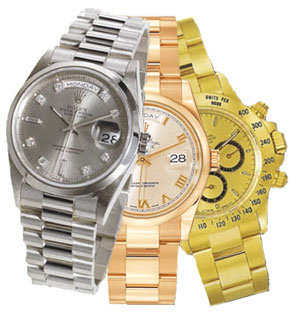 We carry a large selection of pre-owned Rolex watches